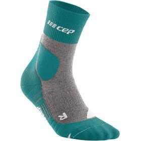 cep Hiking Merino Mid Cut Socks Men, verde/gris